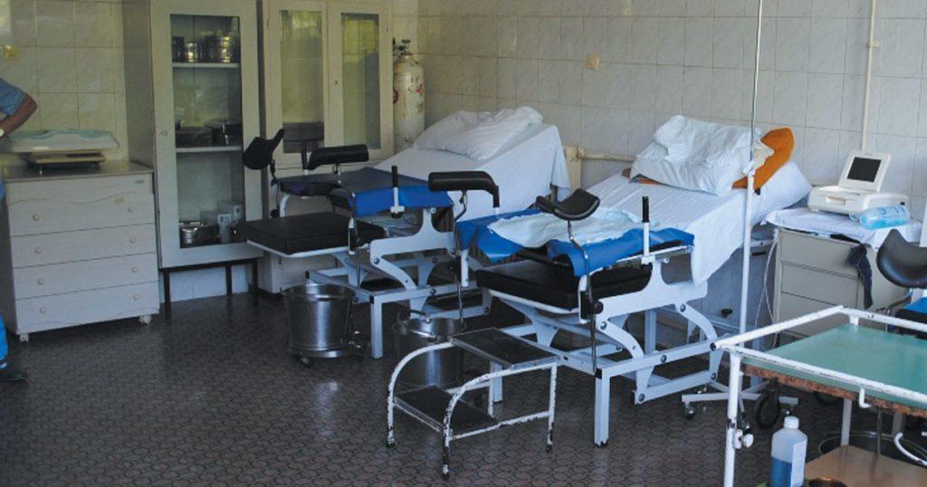 Photo de la salle d'accouchement