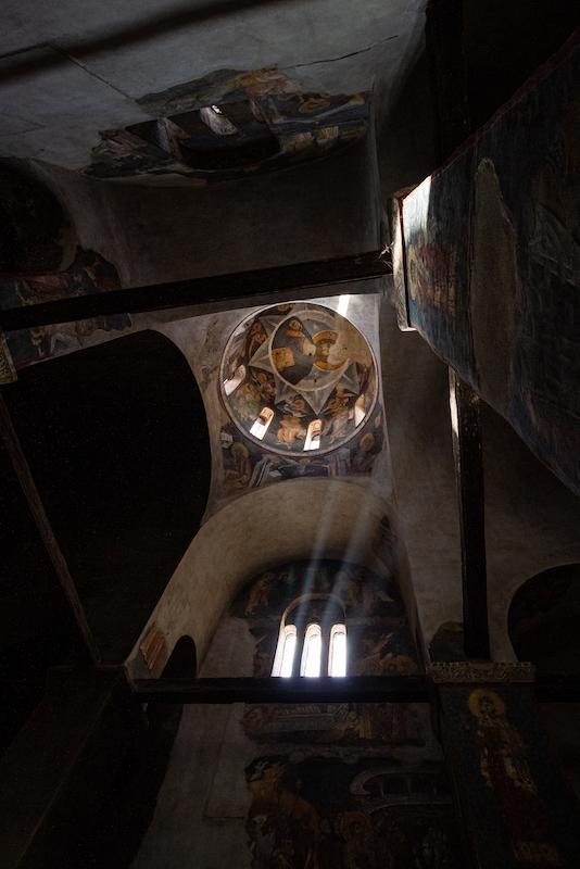 L'église de la Vierge de Ljevis