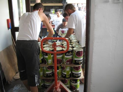 40 tonnes d'aide alimentaire