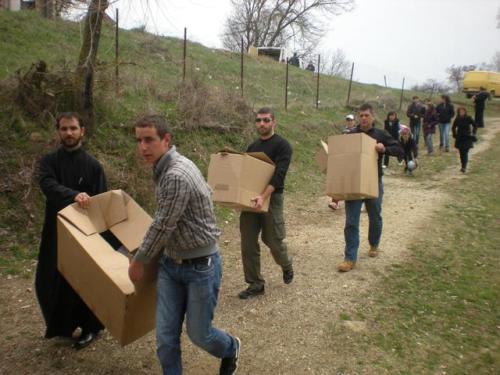 Convoi humanitaire espagnol
