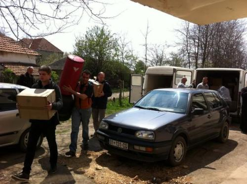 Convoi humanitaire italien