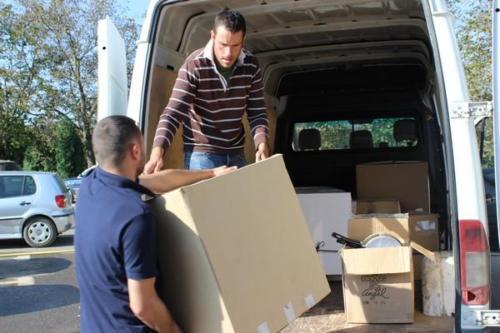 Deuxième convoi humanitaire