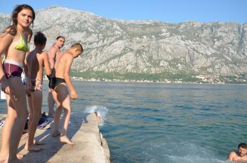 ETE 2012 : classe de mer