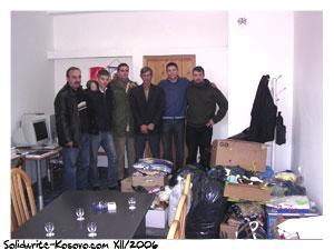 Mission de noel 2006