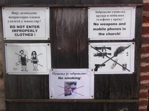 Pèlerinage au Kosovo-Métochie