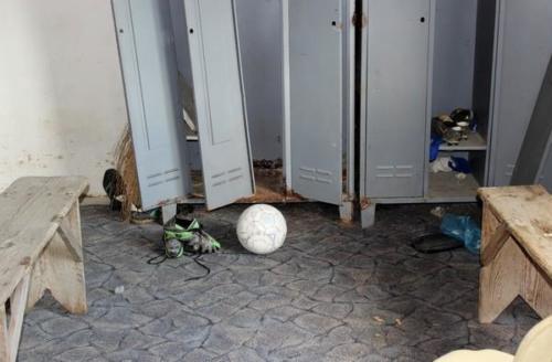 Rénovation du club sportif de Velika Hoča