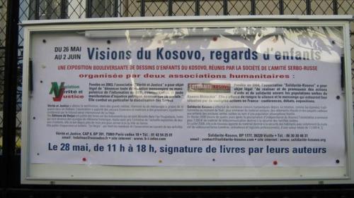 Visions du Kosovo, regards d'enfants